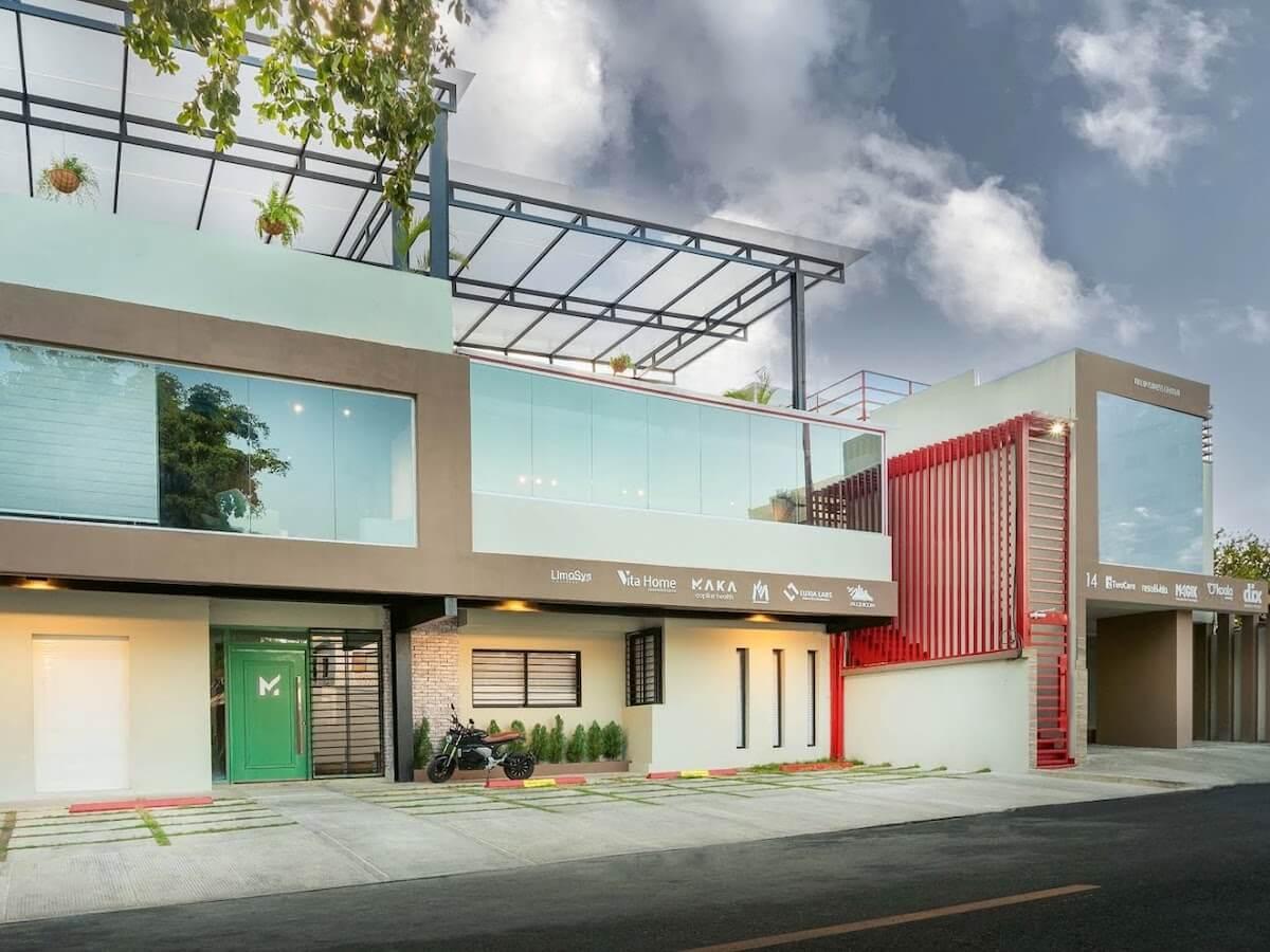facade envelope dominican republic office